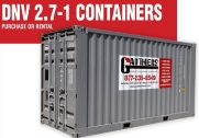 DNV 2.7-1 Certified Offshore Containers