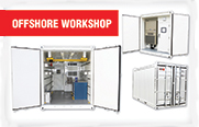 Gauthiers' Offshore Workshop Containers