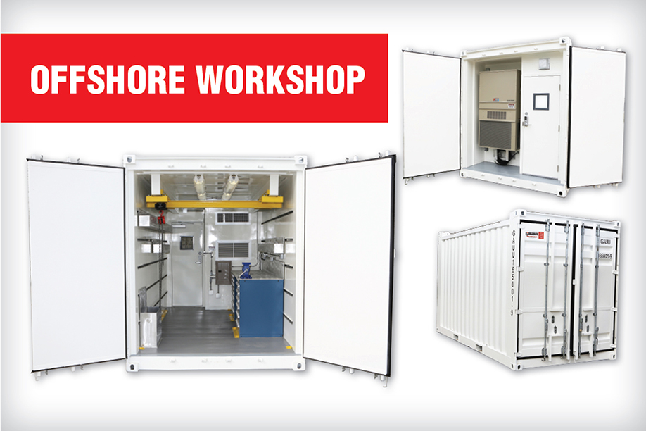 Offshore Workshop Containers Gauthiers