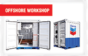 Gauthiers' Steel Offshore Workshop Containers
