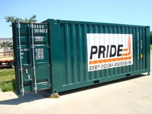 Pride Deep Ocean Ascension Container